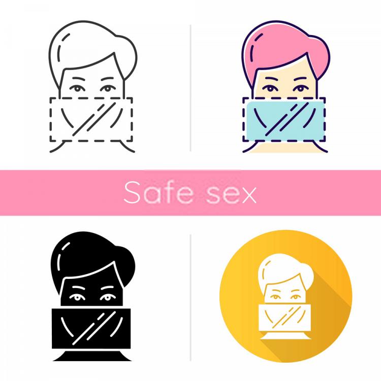 Màng chắn miệng Bao cao su giúp bạn an toàn khi oral sex