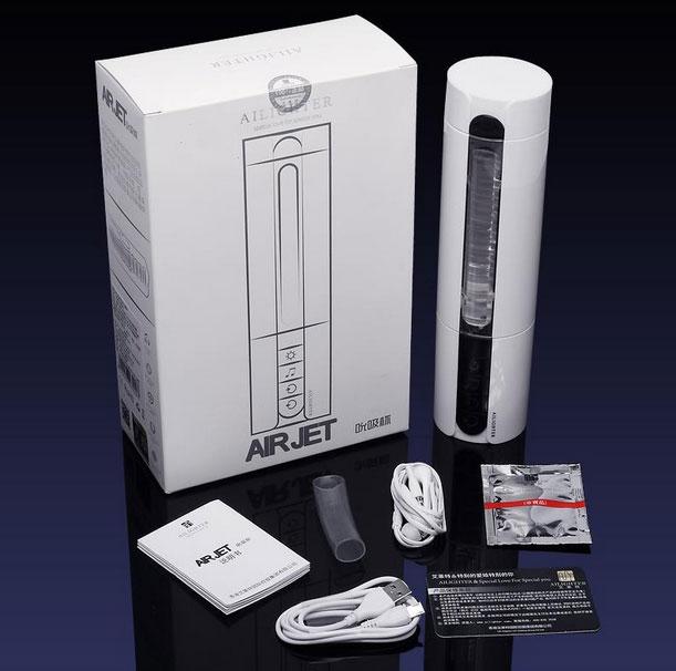 Máy âm đạo nữ giả silicon bú mút rung thụt xoay tỏa nhiệt độ phát âm Ailighter giá rẻ