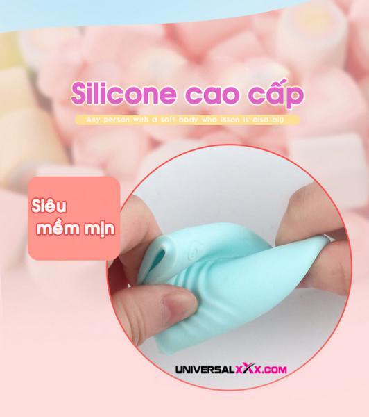 Trứng rung silicon 10 tần số kích thích tình dục massage điểm G Lilo Shop đồ chơi tình dục người lớn cao cấp