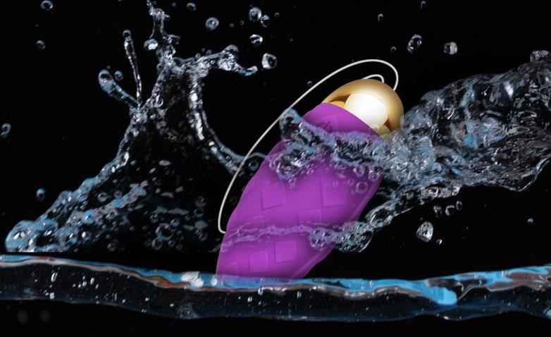 Trứng rung silicon mini kích thích điểm G không dây Dini Vibrating Egg 12 chế độ rung
