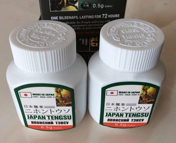 Hộp thảo dược tăng cường sinh lý nam giới Japan Tengsu