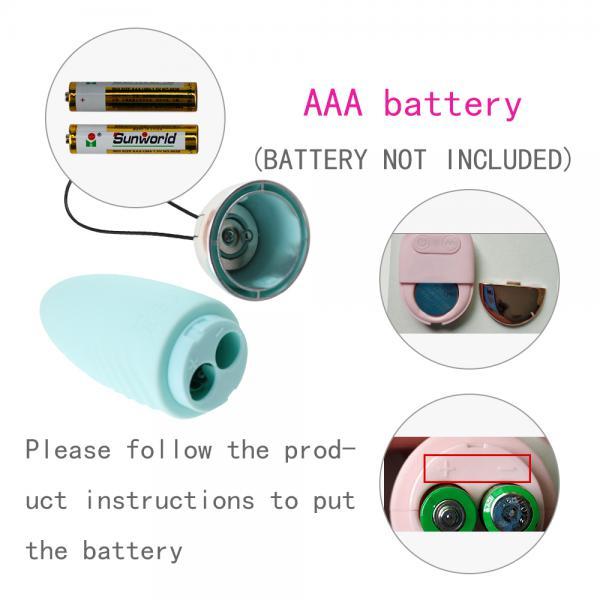 Trứng rung - Máy rung tình yêu mini silicon không dây kích thích - massage điểm G nữ Lilo dùng pin