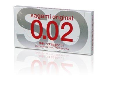 Shop ban bao cao su tránh thai Sagami Original 0.02