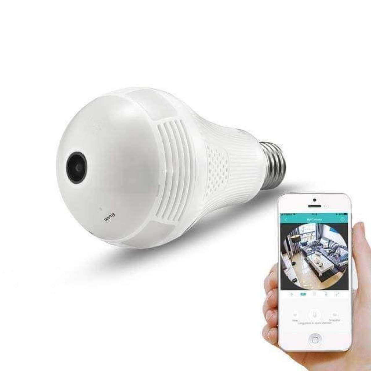 Hình ảnh Camera Nguỵ Trang Bóng Đèn Quay 360 Độ TP Hà Nội Hồ Chí Minh Máy quay lén ngụy trang bóng đèn